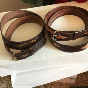 Other - Men's leather belts